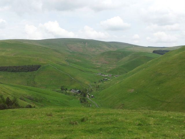 Windy Gyle from Wedder Leap, Coquet Valley, Cheviots_9
