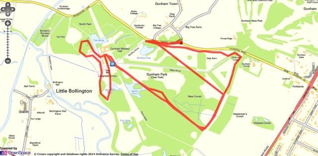 Dunham Park Route