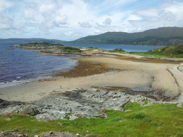 Sandaig Islands beach - Copy