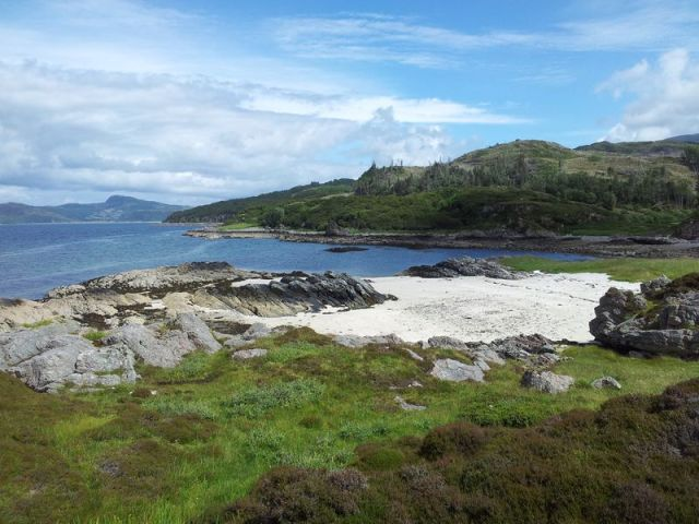 Sandaig Islands golden beach - Copy