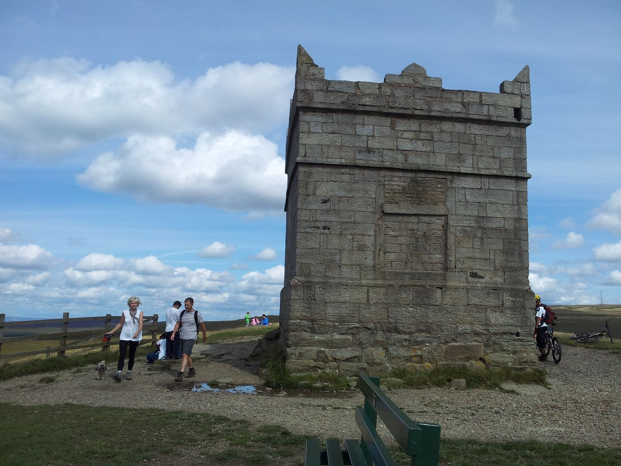 A summer walk on winter hill and rivington pike via two for The rivington