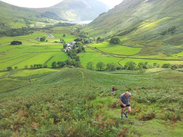Gable, Kirk Fell & Wasdale Head from Seathwaite_10