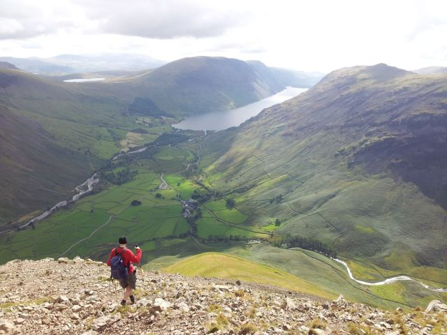 Gable, Kirk Fell & Wasdale Head from Seathwaite_14