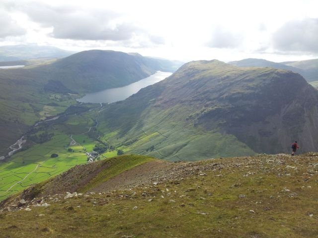 Gable, Kirk Fell & Wasdale Head from Seathwaite_15