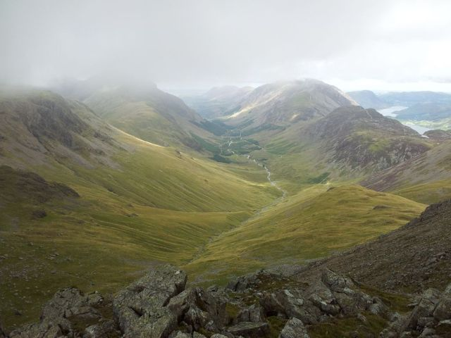 Gable, Kirk Fell & Wasdale Head from Seathwaite_27