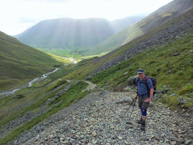 Gable, Kirk Fell & Wasdale Head from Seathwaite_4