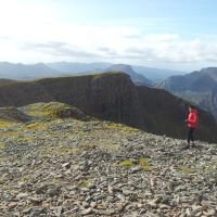 A Walk up the Cold Hollow of Fuar Tholl, an impressive Glen Corran Corbett - 10 miles