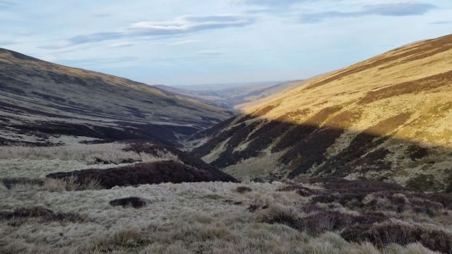 The Cheviot via the Bizzle from Langleeford_39