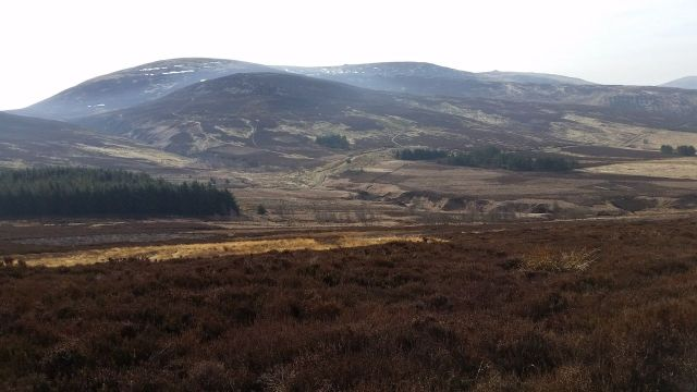 The Cheviot via the Bizzle from Langleeford_8