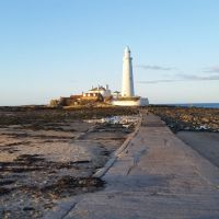 A Whitley Bay Walk - 5 miles around the coast- Seaton Burn, Seaton Sluice and St Marys Island