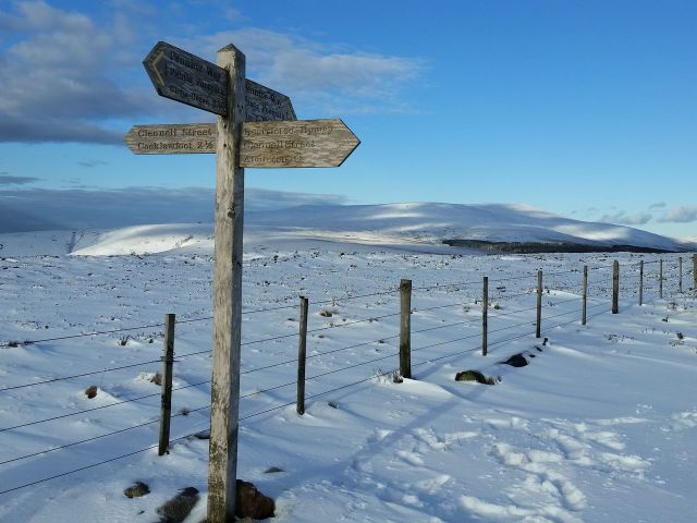Wintry Windy Gyle walk March 2016_6