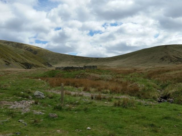 The Cheviot via the Hen Hole from Langleeford_18