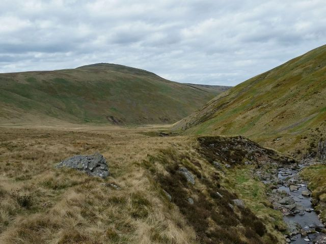 The Cheviot via the Hen Hole from Langleeford_19