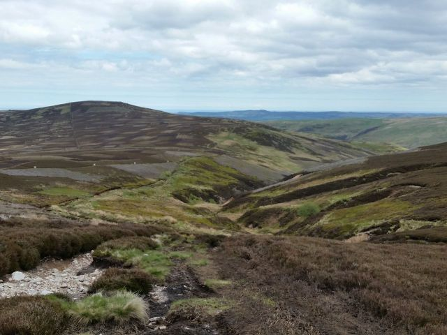 The Cheviot via the Hen Hole from Langleeford_2