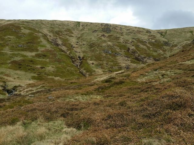 The Cheviot via the Hen Hole from Langleeford_32