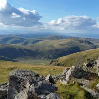 Probably the best route up the Cheviot from Langleeford - via Lambden Valley, College Valley and the Hen Hole - (13 miles)
