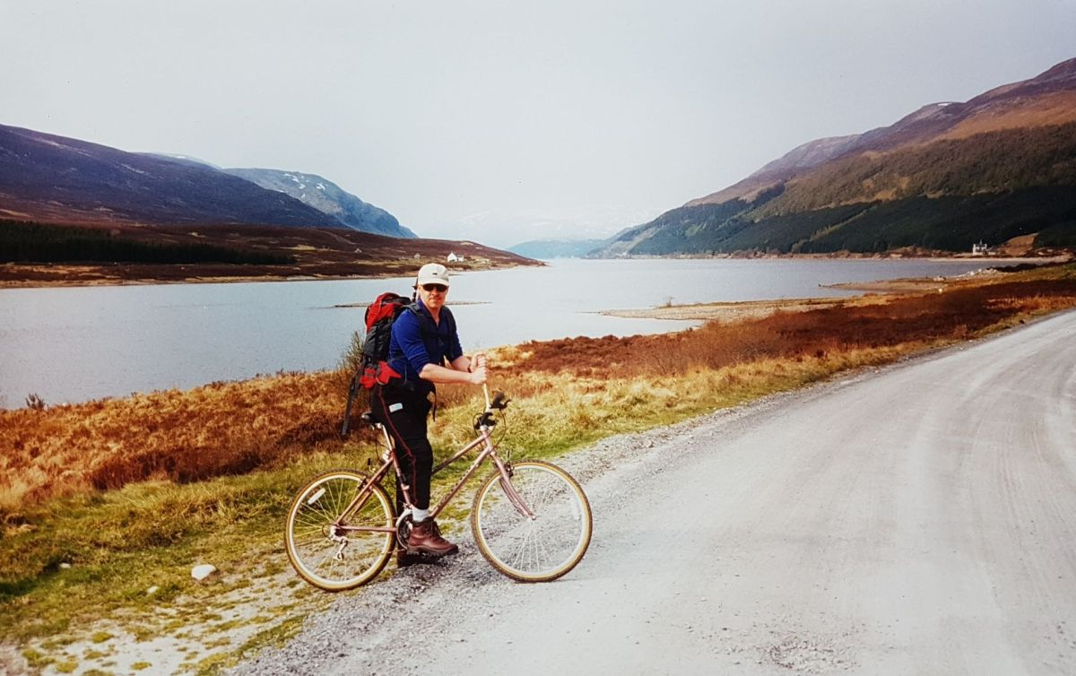 Ben Alder and the Bike-Hammer-Brake Adventure
